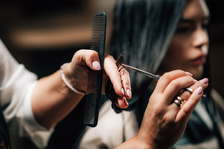 peluquería en Salón de Belleza Salones Mondame Tenerife Siam Mall